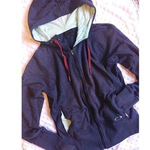 Zip up hoodie Oakley